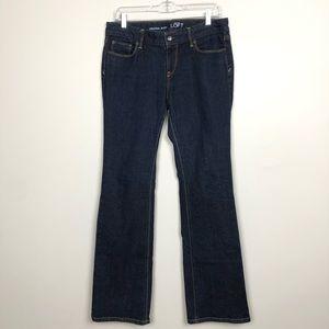 Ann Taylor Loft Original Boot Blue Denim Jeans